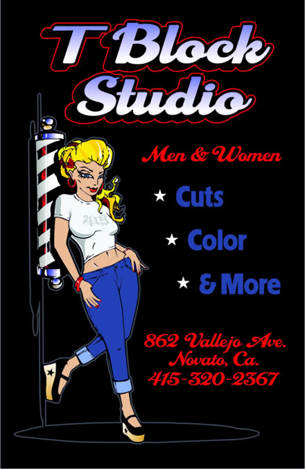 T Block Studio 862 Vallejo Ave 415-320-2367